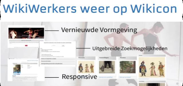 WikiWerkers actief op WikiMedia Conferentie